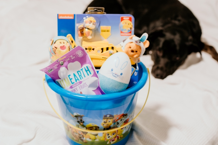 Vegan Toddler Easter Basket